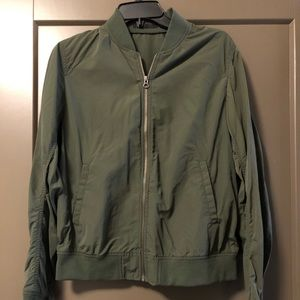 Uniqlo Green Bomber Jacket